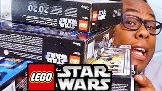 "I ""STOLE"" LEGO STAR WARS?? 20th Anniversary Haul ft. Strawburry17 (The Skywalker Saga)"