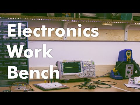 How To make a DIY Electronics Work Bench - Part 1
