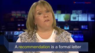 News Words: Recommendation