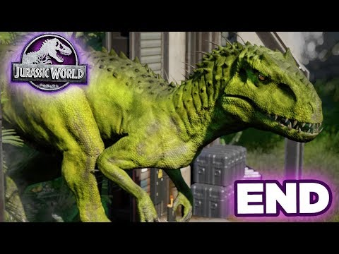 THE FINAL BATTLE + GIVEAWAY!!! - Jurassic World Evolution - Secrets of Dr.Wu | Ep10 HD