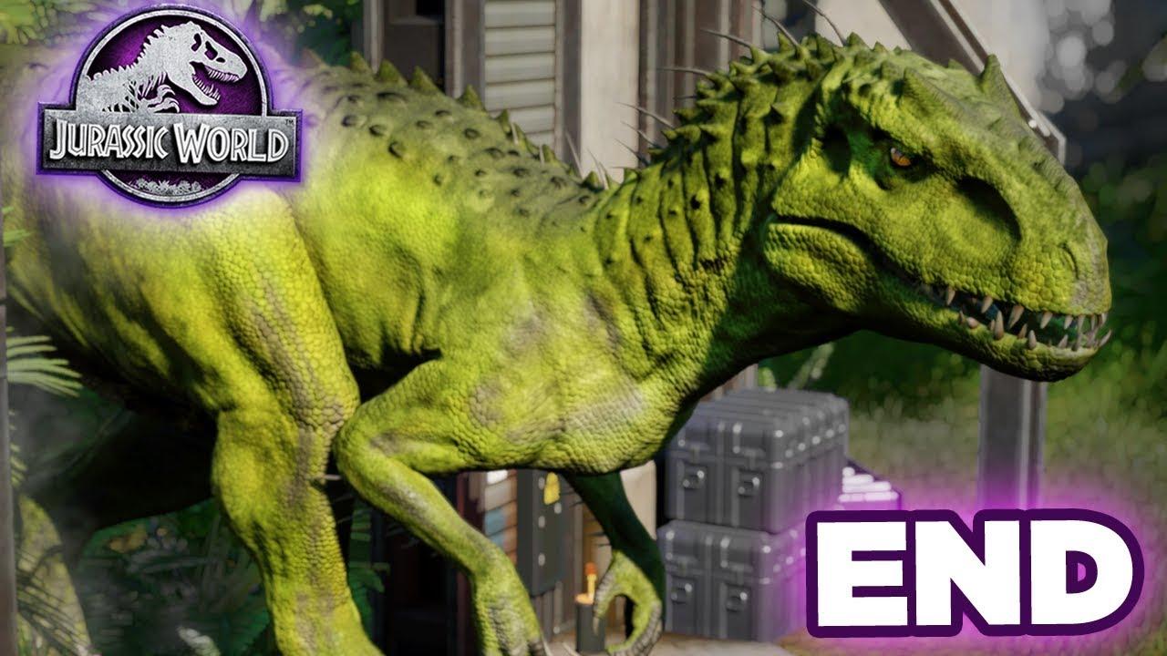 The Final Battle Giveaway Jurassic World Evolution Secrets Of Dr Wu Ep10 Hd Youtube