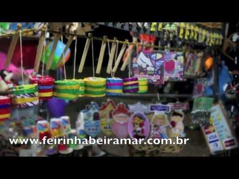 Feirinha Beira Mar  Fortaleza  YouTube