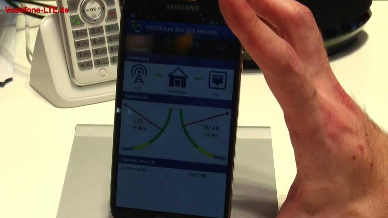 avm fritz app dsl lte hybrid lte zugang des smartphones. Black Bedroom Furniture Sets. Home Design Ideas