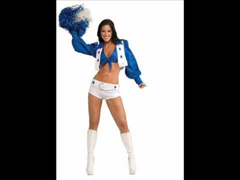 Halloween Market Store - DALLAS COWBOY CHEERLEADER HALLOWEEN COSTUME  sc 1 st  YouTube : dallas cowgirl cheerleader costume  - Germanpascual.Com
