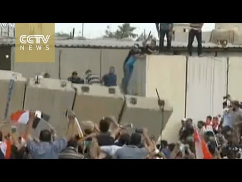 Protesters invade Baghdad