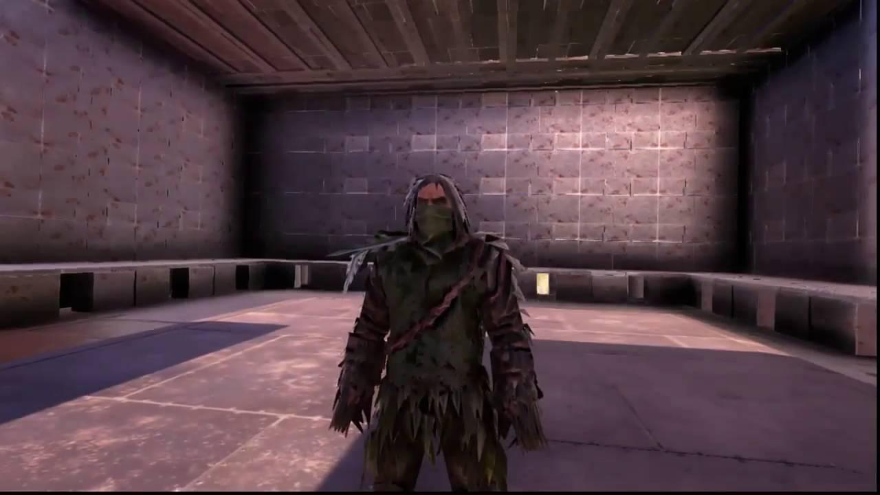 ark ghillie suit commands