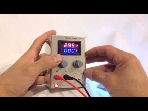DIY Small Bench power supply (Precision adjustment of current and voltage)