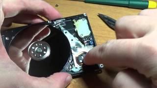 видео греется жесткий диск ноутбука