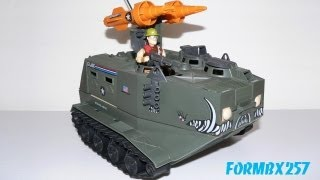 1988 Warthog AIFV and Sgt. Slaughter GI Joe review