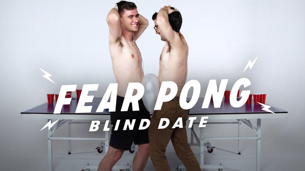 Blind Dates Play Fear Pong (Joe vs. Chris) | Fear Pong | Cut
