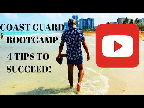COAST GUARD BOOTCAMP 4 TIPS TO SUCCEED! VLOG 001