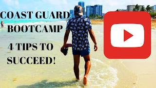 COAST GUARD BOOTCAMP 4 TIPS TO SUCCEED! TRAINING CENTER CAPE MAY VLOG 001
