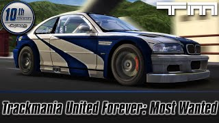 TrackMania United Forever: Need For Speed Most Wanted Special