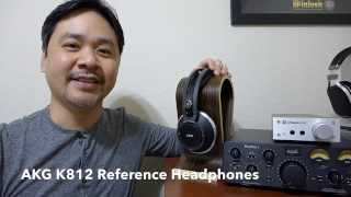 Reference Headphone! AKG K812 review