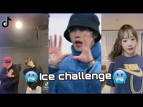 Kpop idols doing the Ice challenge🥶 on TikTok(Enhypen,BM,Target etc)