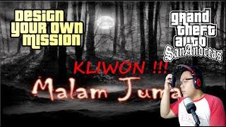 Mogok Di Malam Jum'at Kliwon |Warning Jumpscare!!!|  GTA Extrime Indonesia DYOM #37