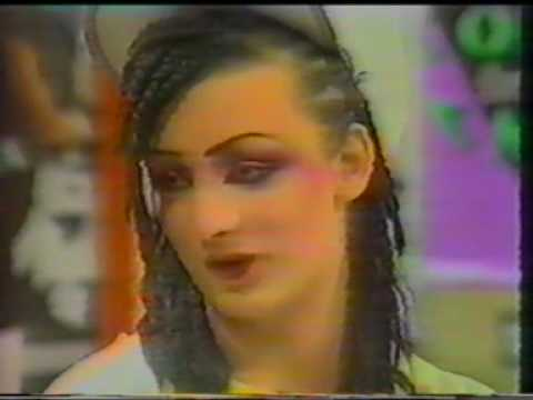 Boy George 1982 (Check It Out) RARE Interview
