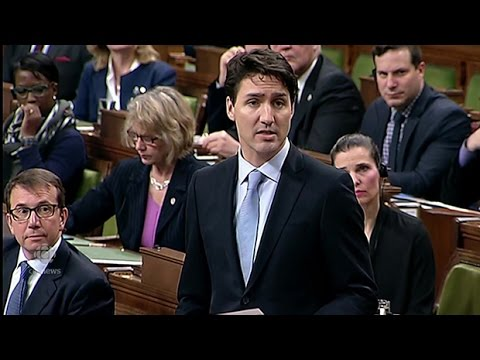 Trudeau on U.S. airstrikes in Syria