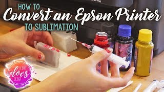 How to Convert an Epson Workforce Printer to Sublimation