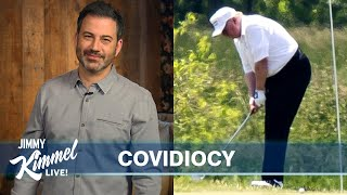 Jimmy Kimmel's Quarantine Monologue - Trump Golfs & Pool Parties in the Ozarks