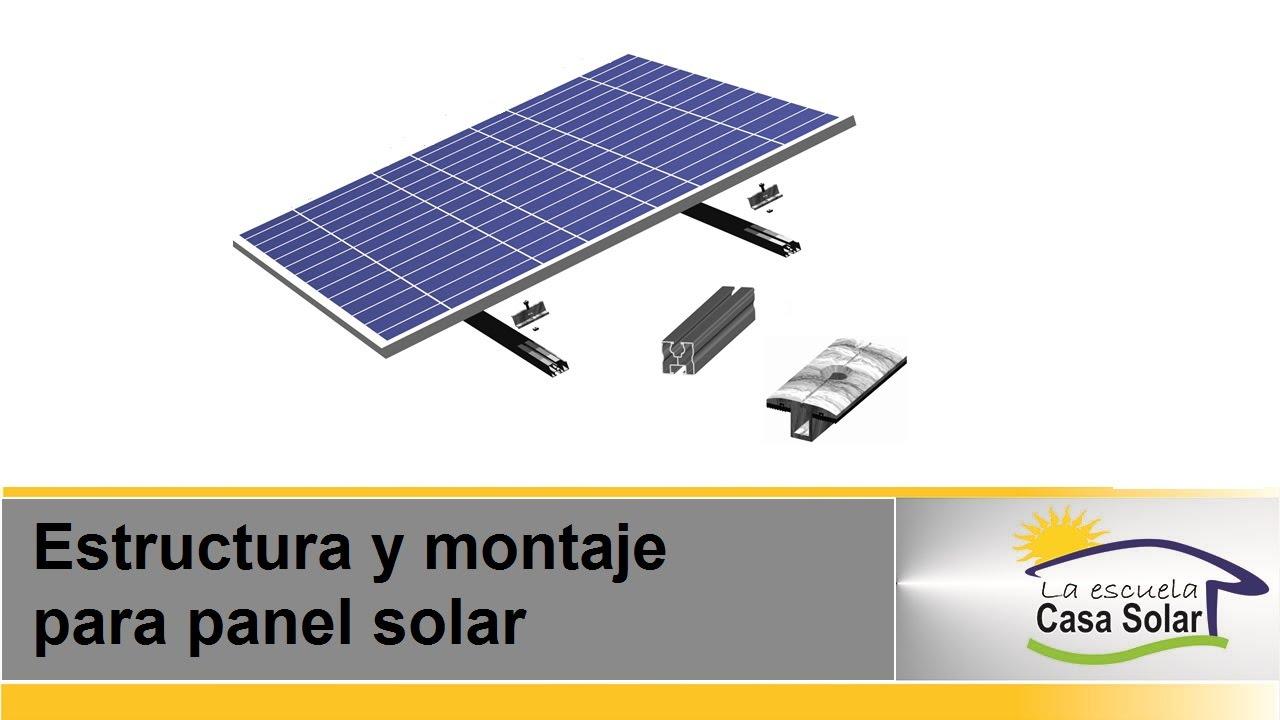 Como Instalar Paneles Solares En El Techo De Mi Casa Youtube