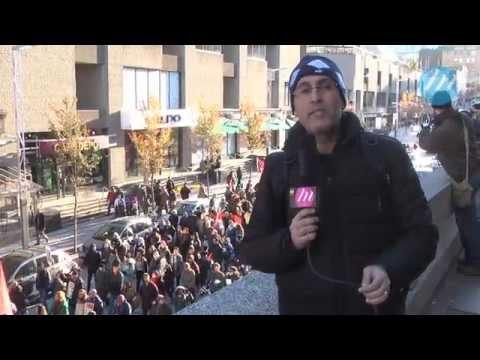 Montréal: Marche pour la paix à Gaza