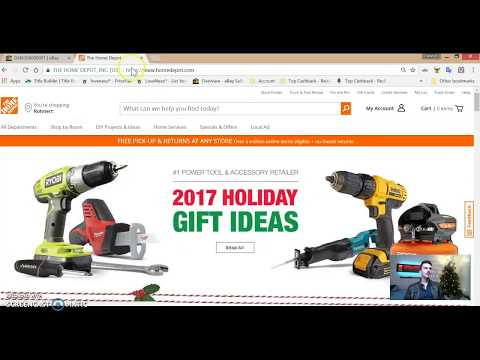 How to find items on HOME DEPOT for Drop Shipping on eBay eBook