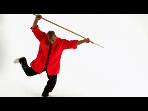5 Basic Staff Techniques | Shaolin Kung Fu - YouTube