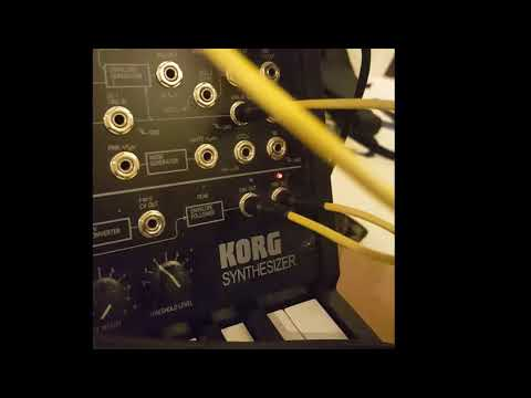 Korg MS20 mini - ESP controlled by SpaceF LogiQuencer