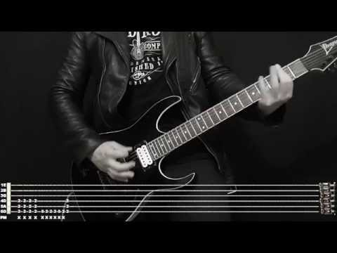 Rammstein Bestrafe Mich instrumental cover with tabs and backing track