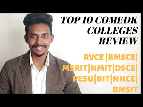 Top Engineering Colleges In Bangalore | RV College  | BMSCE | MS Ramaiah | COMEDK 2019