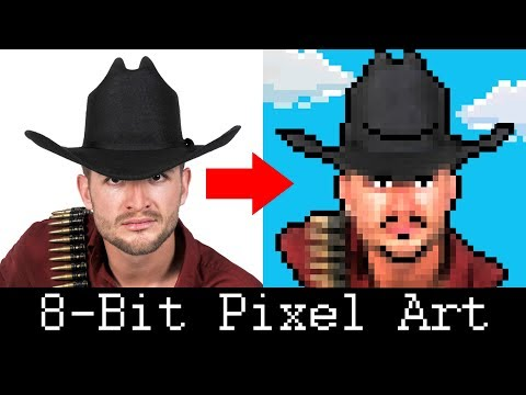 Photoshop Tutorial: How to Create a Retro, 8-Bit Pixel Portrait from a Photo