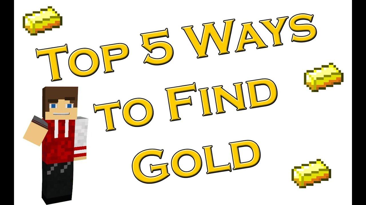 Top 8 Ways to find Gold in Minecraft
