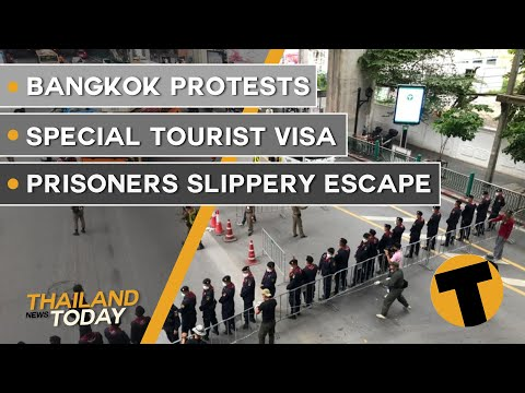 Thailand News Today | Bangkok protests, Special Tourist Visa, Prisoners slippery escape | October 16