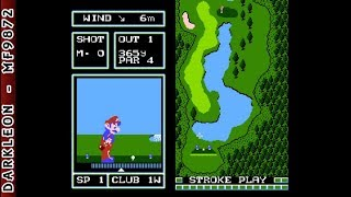 Famicom Disk System - Famicom Golf - Japan Course (1987)