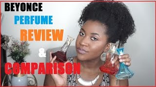 Beyonce Heat Women Perfume Fragrance Comparison 2018. Which Would I Recommend? | Variationsofnani