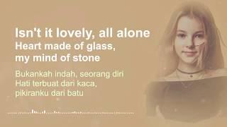 Download Lovely - Billie Eilish ft. Khalid 🎶 Cover By Daneliya Tuleshova ( Lyrics & Terjemahan )