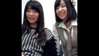 130219 NMB48 近藤里奈 岸野里香 謝罪動画 2-2