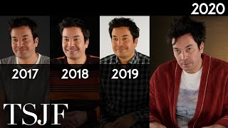 Jimmy Fallon: Same Interview, The Fourth Year | Vanity Fair Parody