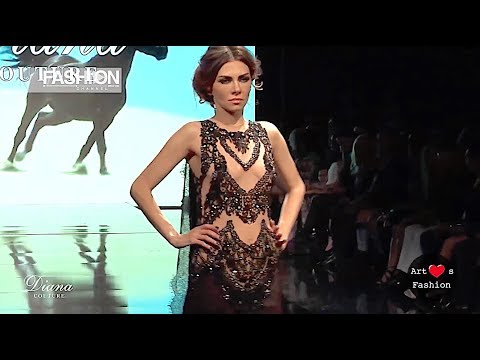 DIANA COUTURE Spring Summer 2017 AHF Los Angeles - Fashion Channel