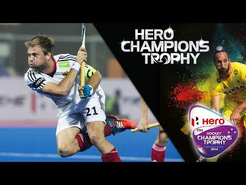 England vs Germany - Men's Hockey Champions Trophy 2014 India QF3 [11/12/2014]
