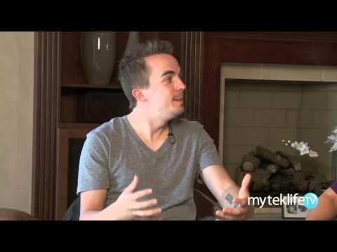 Frankie Muniz Interview Part 1