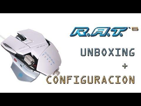 UNBOXING + CONFIGURACION | Mad Catz R.A.T 5 | Espa
