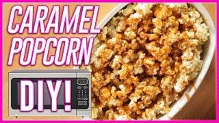 MICROWAVE CARAMEL POPCORN?! Microwave Meals w Mackenzie Marie