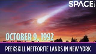 OTD in Space - Oct. 9: Peekskill Meteorite Lands in New York