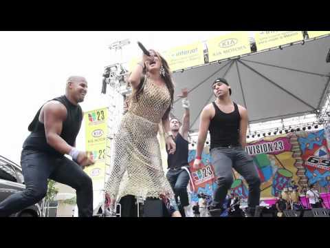 Jossie Cordoba  carnaval  de la calle ocho  miami