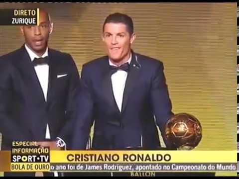 Cristiano Ronaldo The winner of FIFA Ballon d'Or 2016 2017
