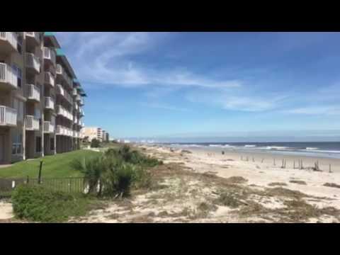 Port Orange Beach Florida post hurricane Matthew