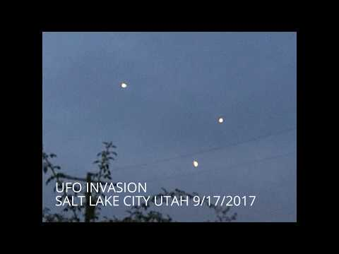 UFO INVASION SALT LAKE CITY UTAH 9/16/2017