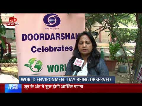 DG Doordarshan and DG DD News message on World Environment Day